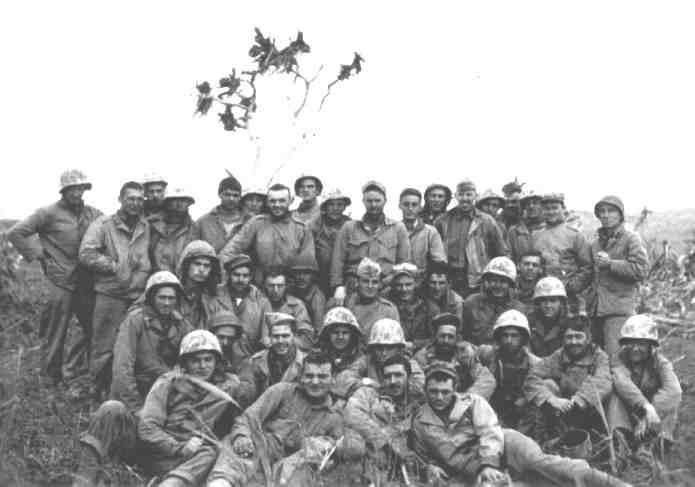 4th Marine Division on Iwo Jima